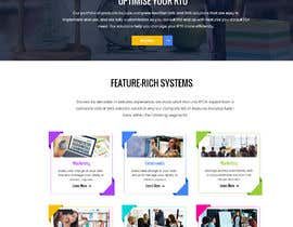 #16 для design a home page for a website от dipan30