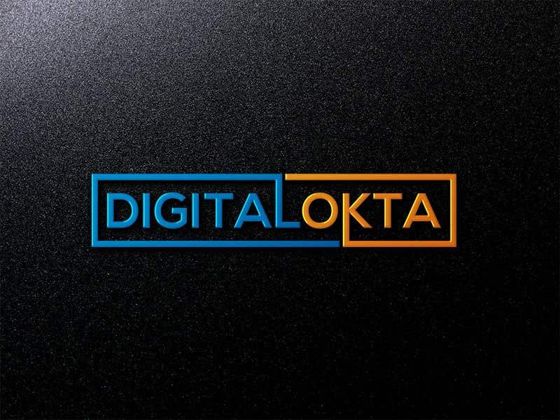 Penyertaan Peraduan #16 untuk DigitalOkta LogoDesign
