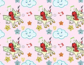 #10 for Create A Seamless Pattern of Baby Devils Riding On Evil Unicorns With Background Items Also by saurov2012urov