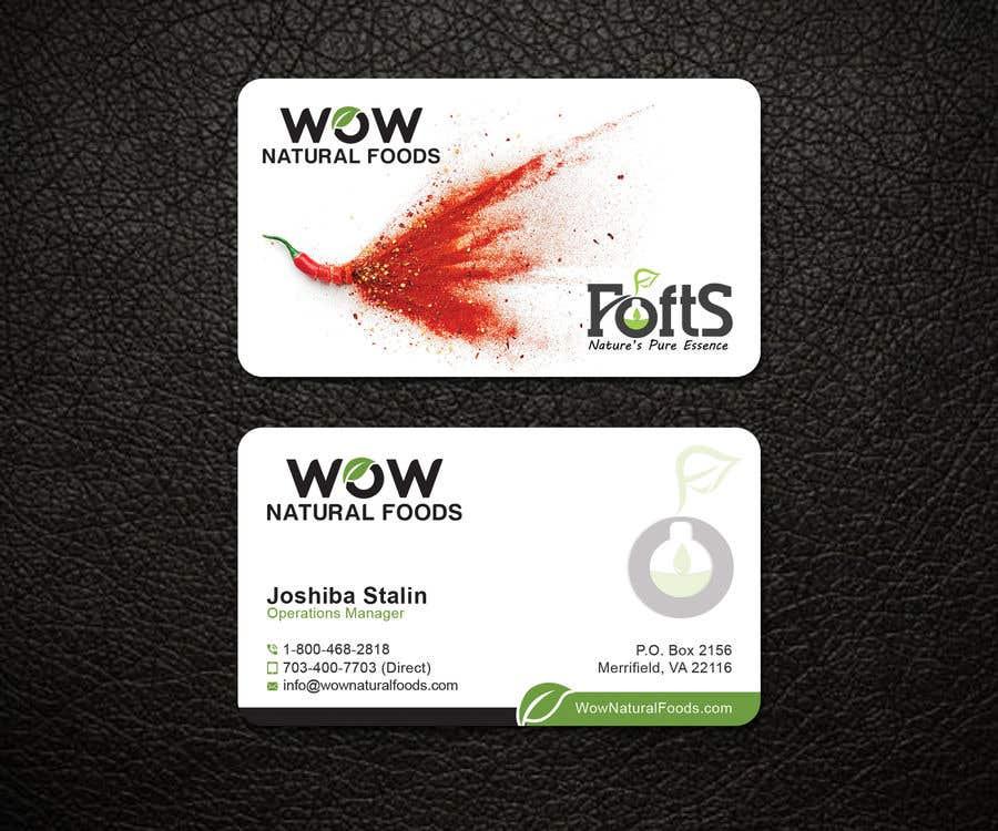 Proposition n°217 du concours create business card