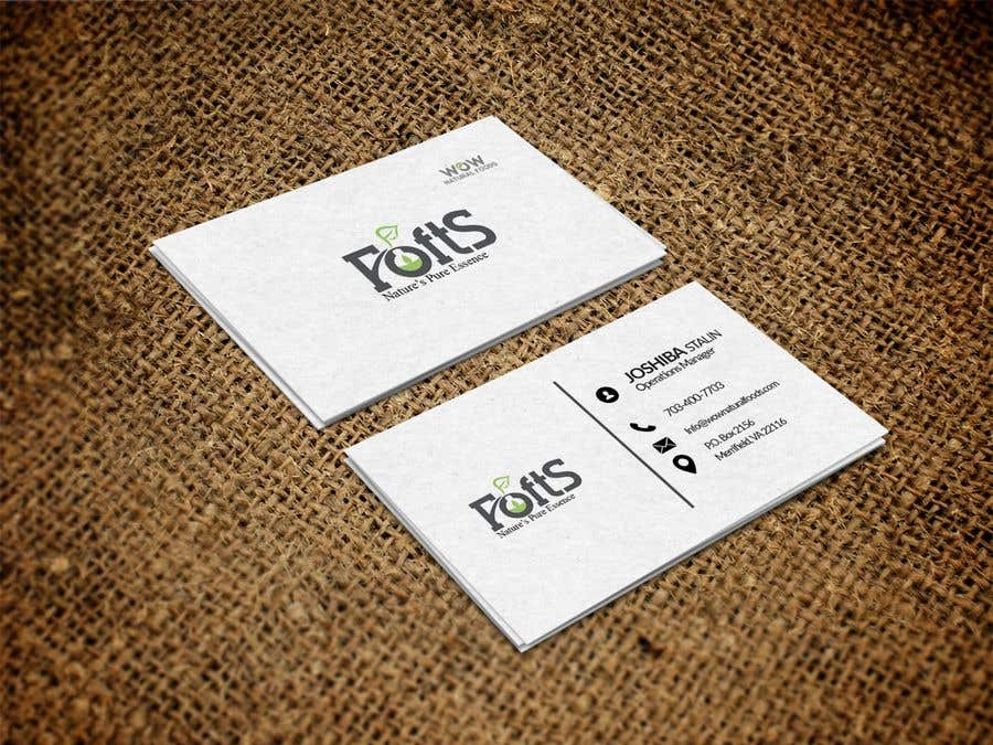 Proposition n°103 du concours create business card