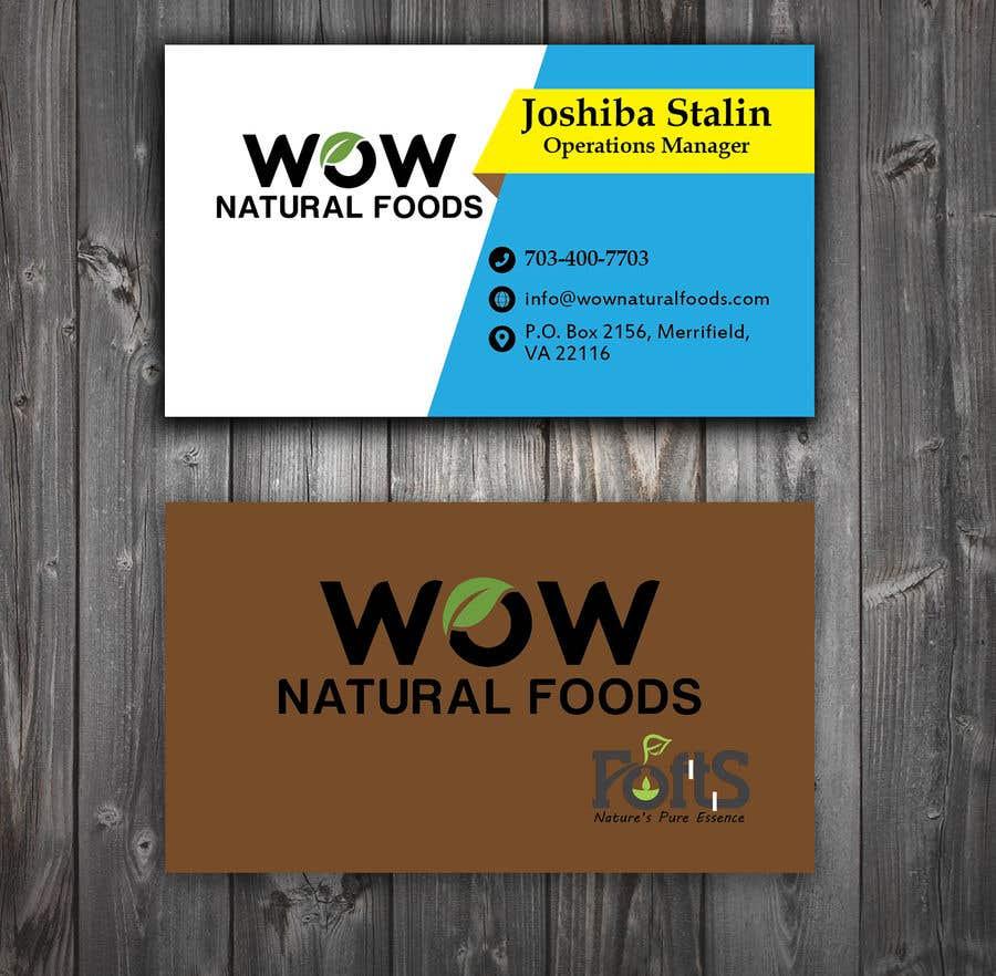 Proposition n°107 du concours create business card