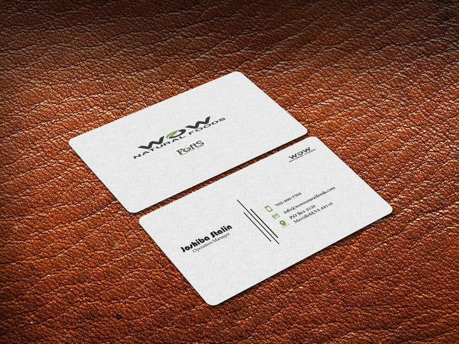 Proposition n°80 du concours create business card