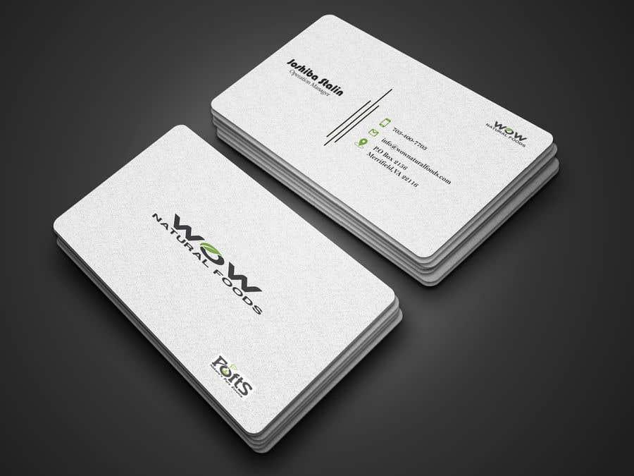 Proposition n°82 du concours create business card
