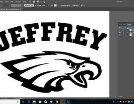 #7 untuk Eagles Font Graphic Design oleh PSdesigner280