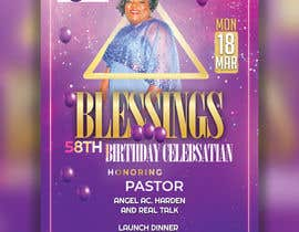 #27 for Create A Flyer for a Birthday Party af hossiniqbal54
