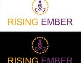 Nro 76 kilpailuun Logo designed for Yoga Studio - Rising Ember käyttäjältä hyder5910