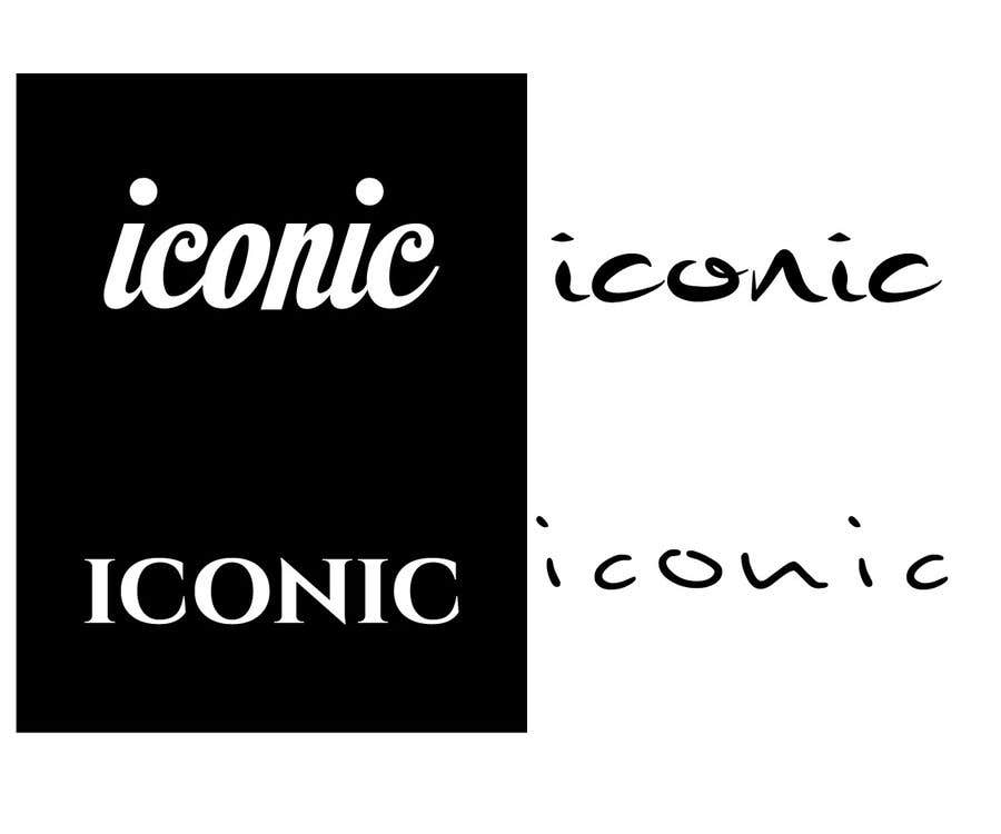 Inscrição nº 20 do Concurso para I need a logo based on a word ( iconic ) we are looking for something modern and chic, this logo will be placed on the back of phone cases .