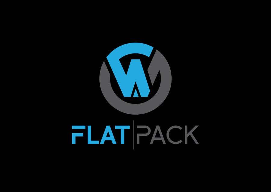 Penyertaan Peraduan #1378 untuk Logo WA FLAT PACK