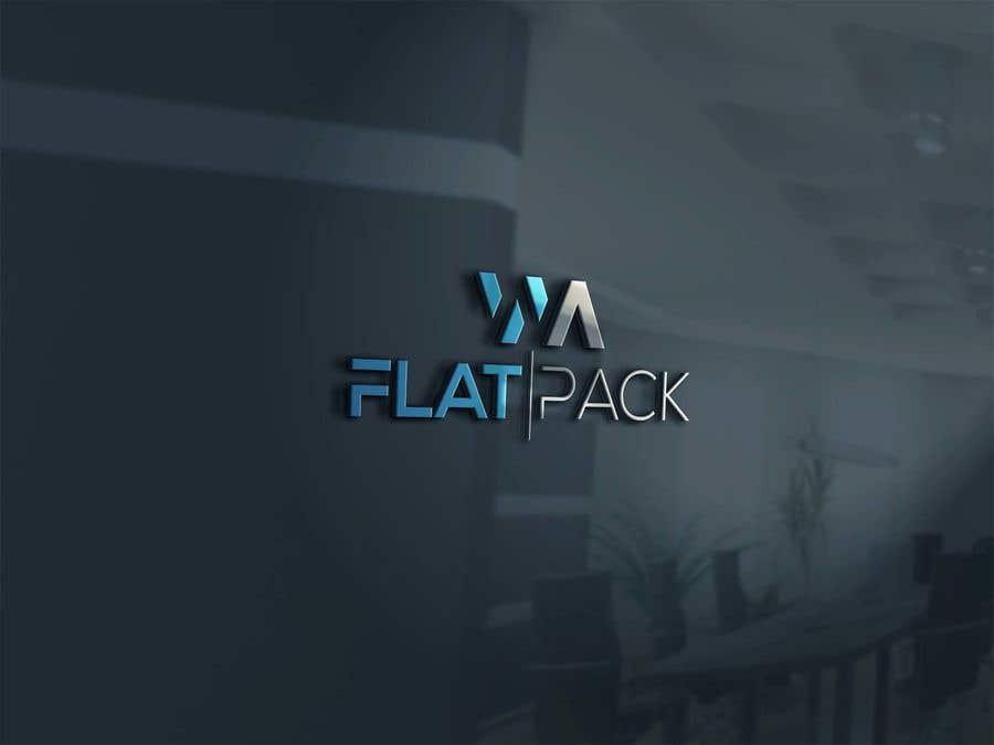 Penyertaan Peraduan #1132 untuk Logo WA FLAT PACK
