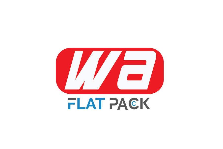 Penyertaan Peraduan #298 untuk Logo WA FLAT PACK