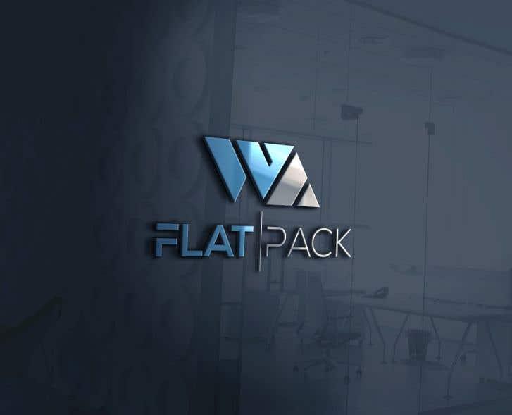 Penyertaan Peraduan #817 untuk Logo WA FLAT PACK