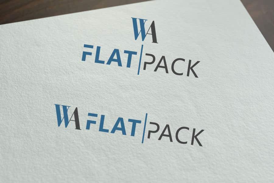 Penyertaan Peraduan #534 untuk Logo WA FLAT PACK
