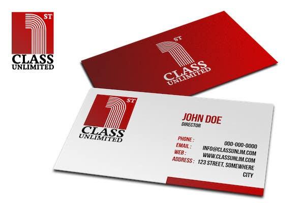 Bài tham dự cuộc thi #                                        67                                      cho                                         Logo Design for 1st Class Unlimited