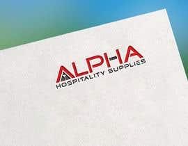#68 for Alpha Hospitality Supplies LOGO af rubayetsumon85