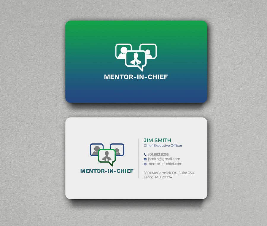 Contest Entry #57 for Biz Card / Word Template / PPT Template for Mentor-In-Chief