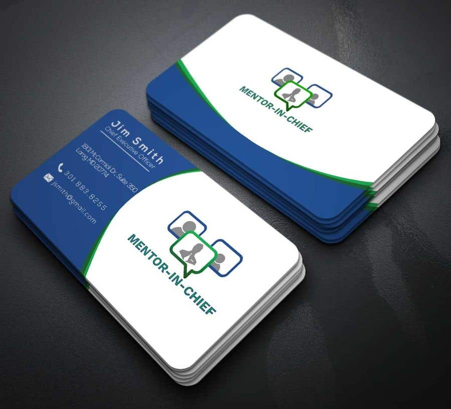 Contest Entry #70 for Biz Card / Word Template / PPT Template for Mentor-In-Chief
