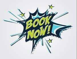 """#49 for Superhero """"Book Now"""" Button for website by AlexMotha"""