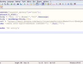 #7 untuk PHP file to collect data from a html form oleh Kuunibyou