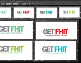 """Nro 11 kilpailuun I would like a simple but strong logo designed for my company. The company is GetFhit. I would like """"Get"""" and """"Fhit"""" to be dofferent colors. YOU CAN ADD YOUR OWN CREATIVE TOUCH. The company focuses on full body fitness. käyttäjältä davoodart"""