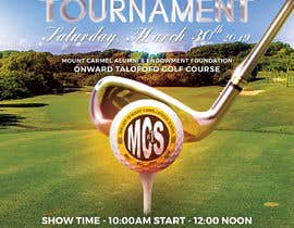 #160 untuk MCS Golf Tournament Media Flyer oleh JonG247