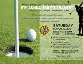 #154 untuk MCS Golf Tournament Media Flyer oleh sadiksufia