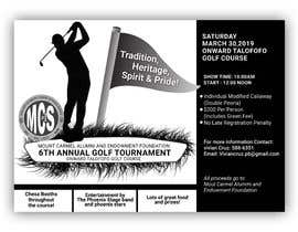 #147 untuk MCS Golf Tournament Media Flyer oleh tonmoy10designer