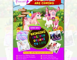 nº 219 pour Flyer Design Kinds Unicorn Event par atidoria