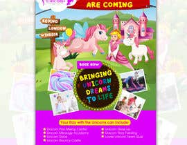 nº 220 pour Flyer Design Kinds Unicorn Event par atidoria