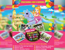 nº 245 pour Flyer Design Kinds Unicorn Event par sumanachy19