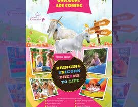 nº 225 pour Flyer Design Kinds Unicorn Event par kamrulhussen56