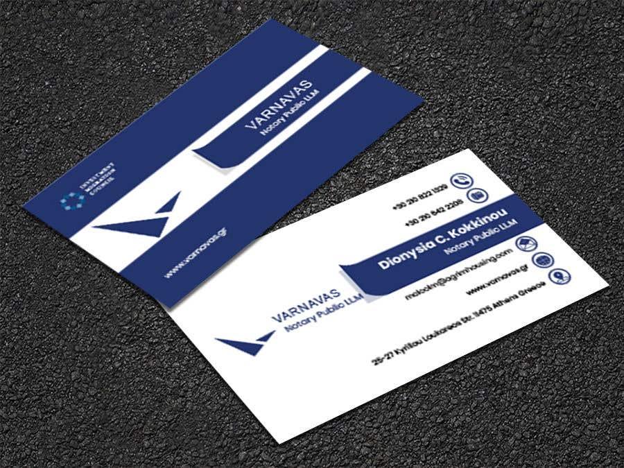 Penyertaan Peraduan #683 untuk Design new business cards for law firm