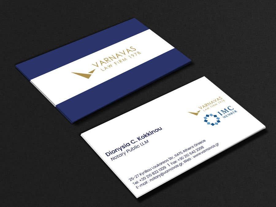 Penyertaan Peraduan #628 untuk Design new business cards for law firm