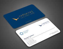 #822 untuk Design new business cards for law firm oleh Uttamkumar01
