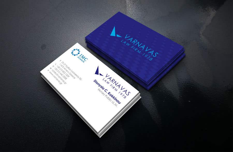 Penyertaan Peraduan #150 untuk Design new business cards for law firm