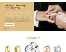 #12 for Design Landingpage for Wedding Onlineshop af saidesigner87
