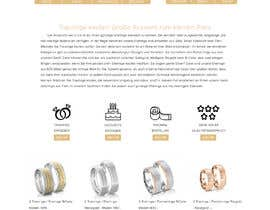 #22 for Design Landingpage for Wedding Onlineshop af Smit355