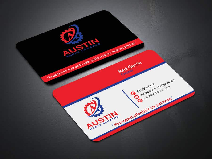 Konkurrenceindlæg #108 for Design Business Cards For Car Parts Company