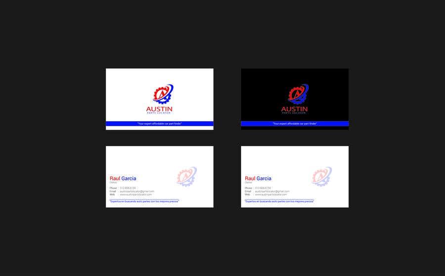 Proposition n°191 du concours Design Business Cards For Car Parts Company