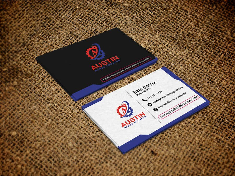 Proposition n°227 du concours Design Business Cards For Car Parts Company