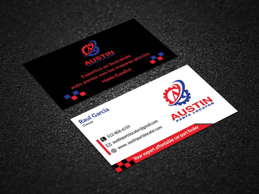Konkurrenceindlæg #295 for Design Business Cards For Car Parts Company