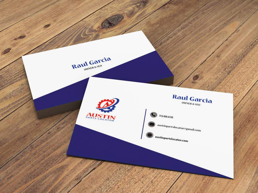 Konkurrenceindlæg #351 for Design Business Cards For Car Parts Company