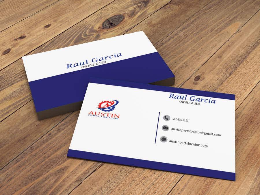 Konkurrenceindlæg #354 for Design Business Cards For Car Parts Company