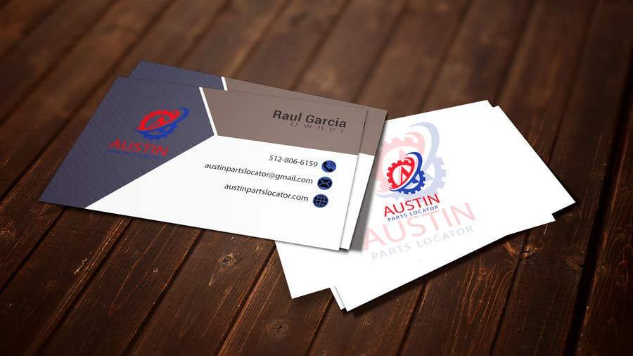 Konkurrenceindlæg #378 for Design Business Cards For Car Parts Company
