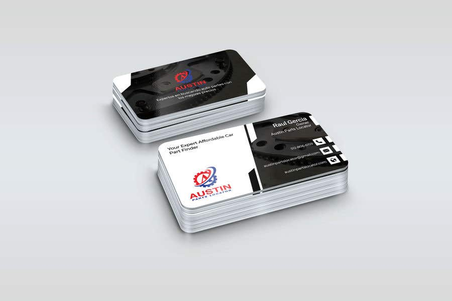 Proposition n°309 du concours Design Business Cards For Car Parts Company