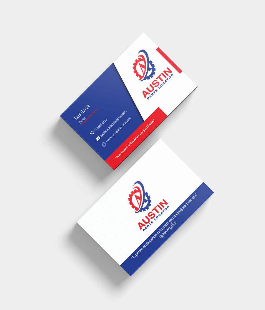 Entry #303 by ujjalkhan786 for Design Business Cards For Car Parts