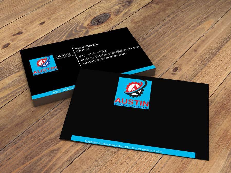 Konkurrenceindlæg #158 for Design Business Cards For Car Parts Company
