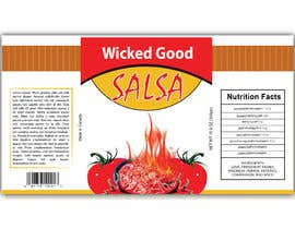 #2 for wicked good salsa label (has to be editable) by abwahid9360