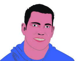 #9 for Vector art portrait cartoon af tuhin893