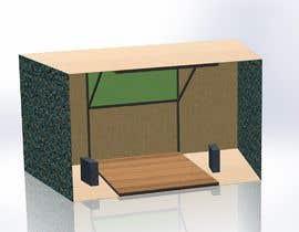 Nro 12 kilpailuun 3D Set's Shelter/Roof design käyttäjältä nathan752001
